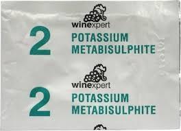 Potassium Metabisulphite 4gr